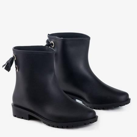 Чорні жіночі матові гумові прихватки Вентилятори - Взуття 1