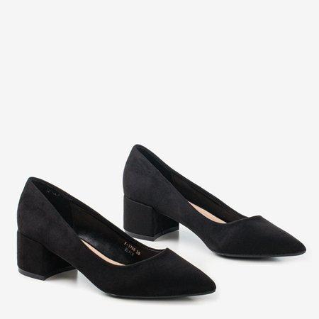 Чорні насоси на низькій посаді Amee - Взуття 1