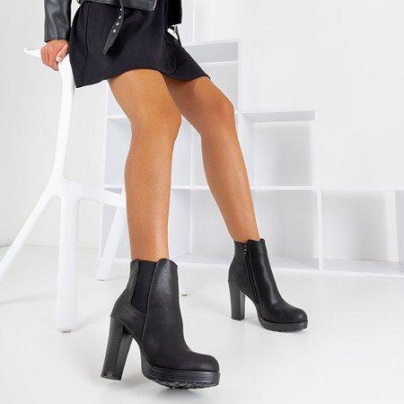 Чорні черевики на високій посаді Diadora - Взуття
