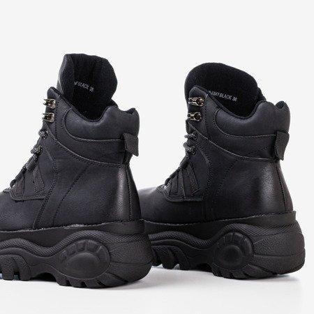 Чорні черевики у спортивному стилі Gapostia - Взуття