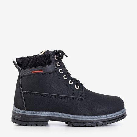 Чорні жіночі утеплені черевики Triniti - Взуття