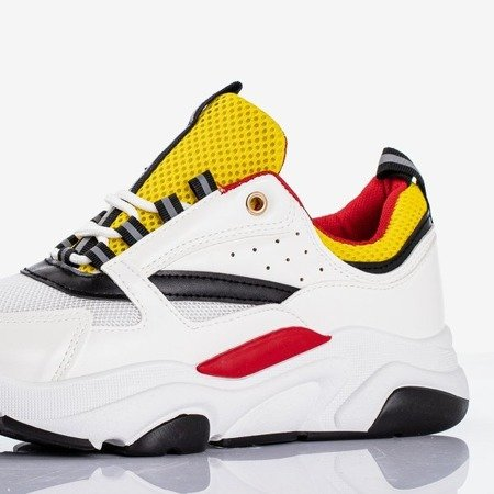 Punch Love Біло-жовтий Жіноче спортивне взуття - Взуття