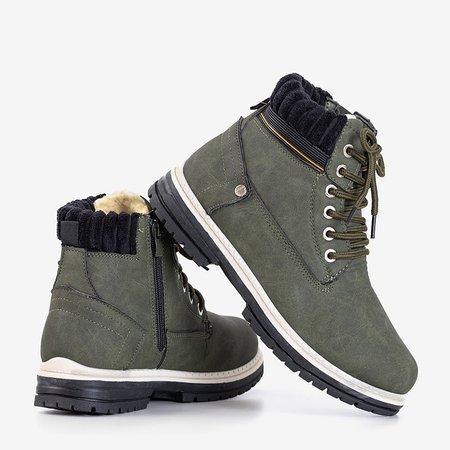 Жіночі черевики в кольорі хакі Magiten - Взуття