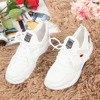 Біле жіноче спортивне взуття з блискучими вставками Murcia - Взуття 1