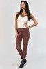 Жіночі темно-рожеві вузькі джинсові штани - Одяг