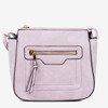 Фіолетова жіноча сумка через плечі - Сумки 1