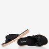 Чорні жіночі тапочки Wastiva - Взуття 1